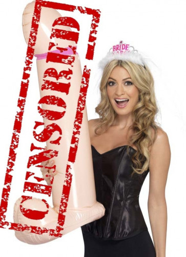 Well Endowed Hen-Party Inflatable 90cm