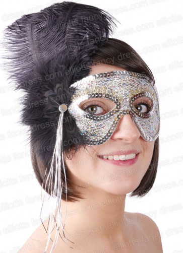 Lucia Black Eye Mask