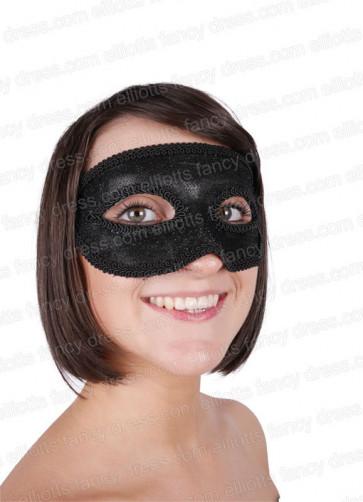 Majestic Black Eye Mask