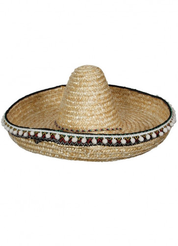 Mexican Sombrero with Tassels
