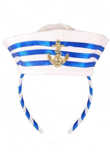 Mini Sailor Hat on Headband