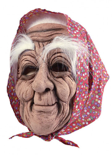 Old-Woman Rubber Mask