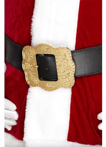 """Ornate Santa Belt 43""""-47"""" Waist"""