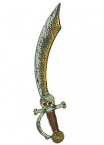 Pirate Skull Cutlass - 44cm