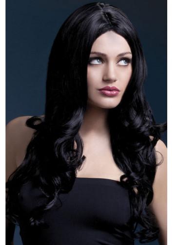 Deluxe Fever Black Rhianne Wig - Styleable