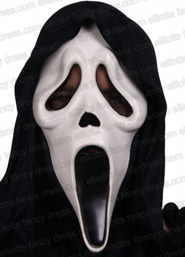 Scary Movie Scream Rubber Mask