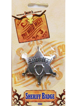 Sheriff Badge - Metal 65mm