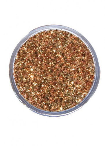 Snazaroo Glitter Dust 12ml Pot Red Gold