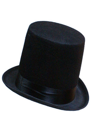 Stovepipe (Abe Lincoln) Top Hat