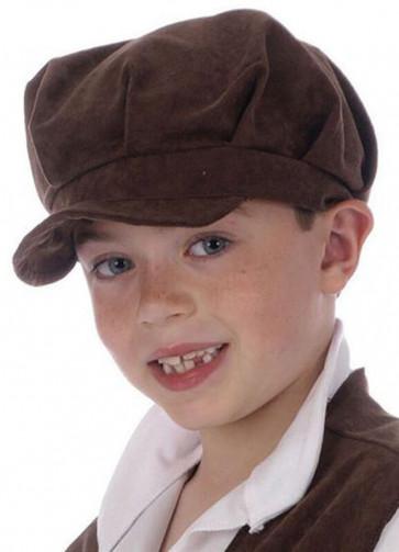 Brown Children's Urchin Cap or Hat
