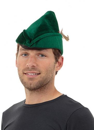 Velvet Robin-Hood / Lost-Boy Hat