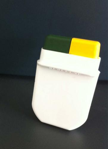 Fanbrush Instant Green Yellow - Makeup