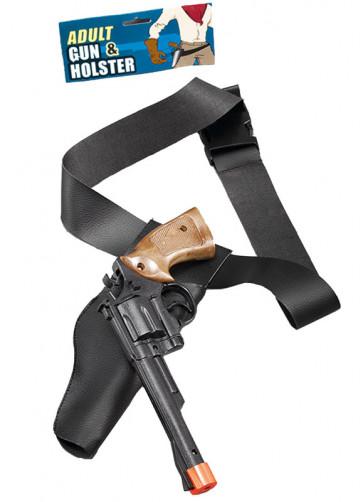Cowboy Holster And Gun