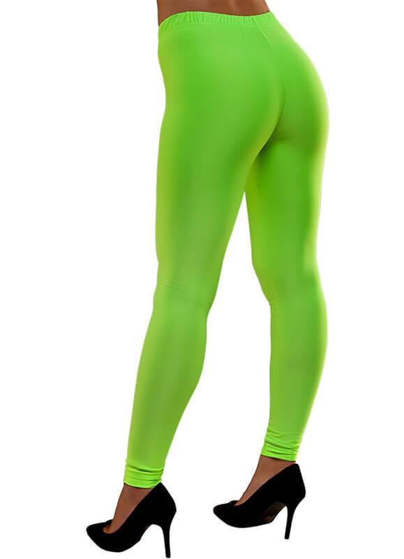 3cde47299 80s Leggings Neon Green. Zoom