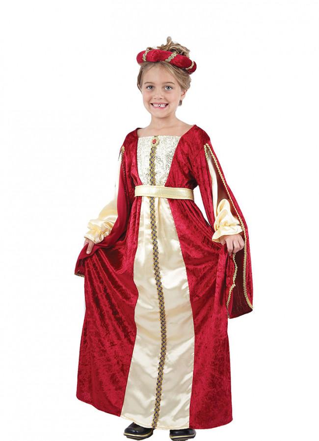 Regal Princess Red Girls Costume