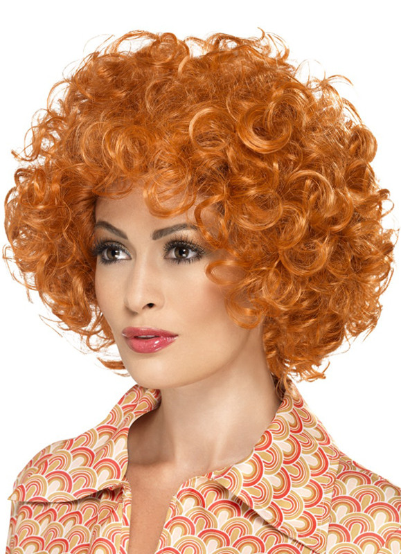 Curly Ginger Afro Wig - Annie 7ba62b929