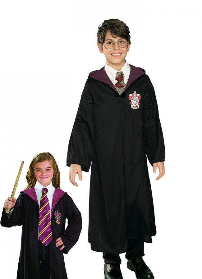 sc 1 st  Elliotts Fancy Dress Shop & Harry Potter Gryffindor Robe (Kids) Costume