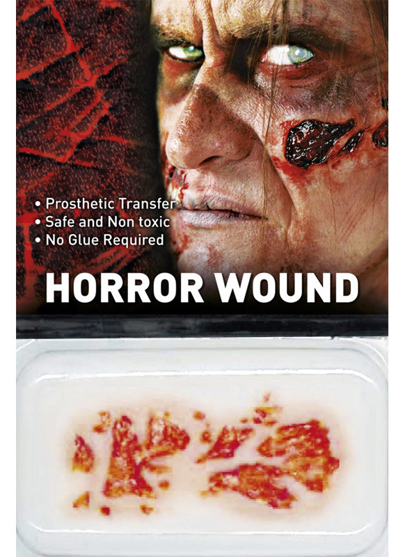 Fake Body Parts Zombie Rot Horror Wound Transfer Accessories