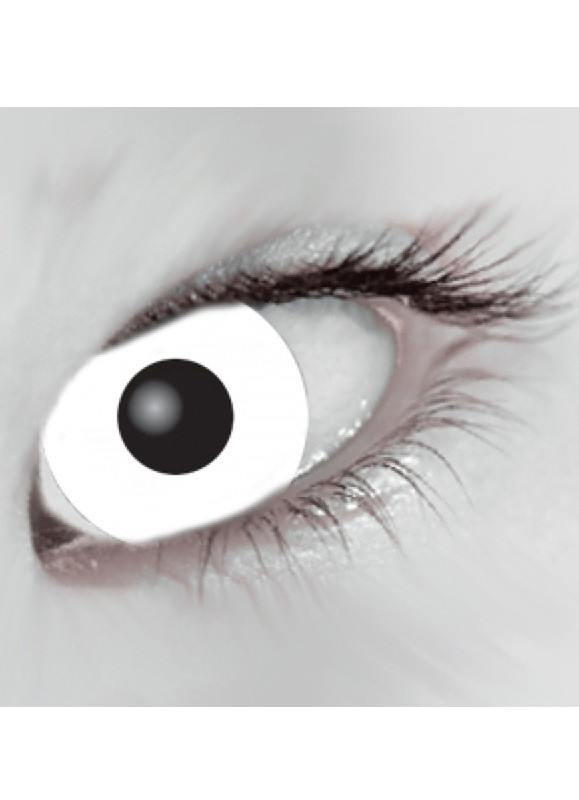 ae76a853a45 White Mini Sclera Contact Lenses (17mm) - 30 Day Wear. Zoom