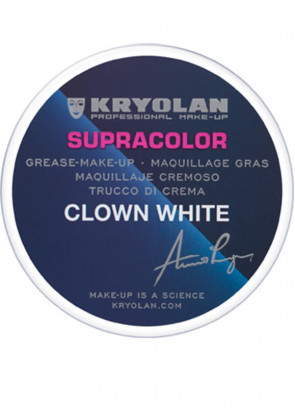 Kryolan Supracolor Clown White 80g