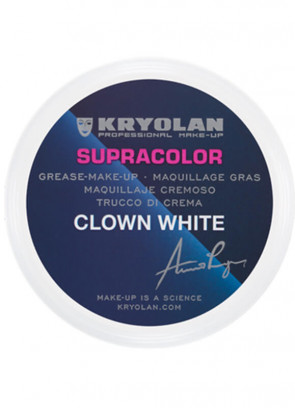 Kryolan Supracolor Clown White 250g