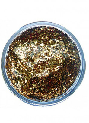 Snazaroo Glitter Gel 12ml Pot Gold