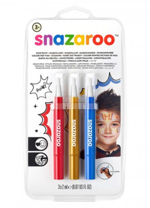 Snazaroo Brush Pen Set - Adventure