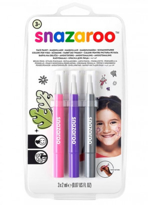Snazaroo Brush Pen Set - Fantasy