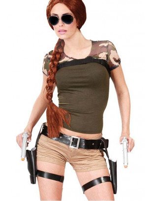 Lara Croft Thigh Holster and Guns Set