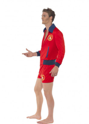 Baywatch Lifeguard Costume - Short Shorts