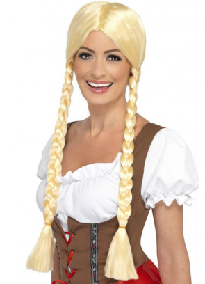 Bavarian Beauty - Blonde Wig