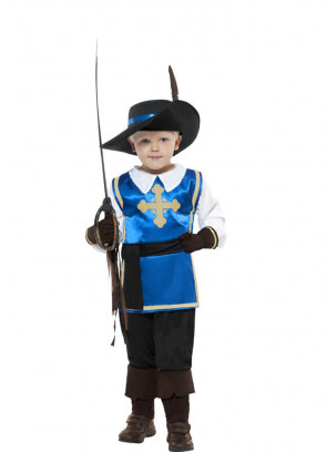 Musketeer Boy Costume