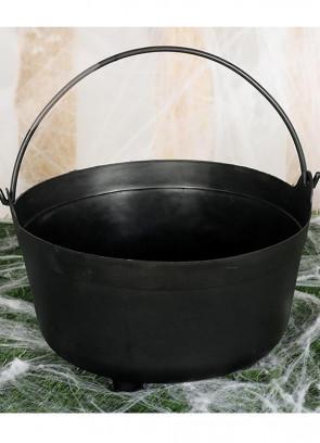 Black Witches Cauldron 32cm