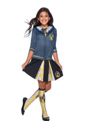 Hufflepuff Pleated Skirt - Girls - Harry Potter