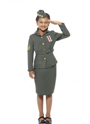 WWII Army Girl Costume