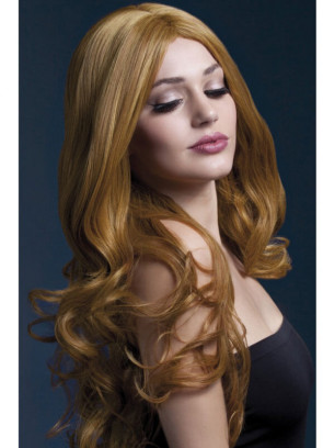Deluxe Fever Auburn Rhianne Wig - Styleable