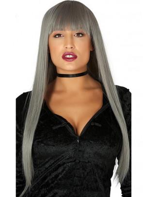 Long Grey Wig – Fringe