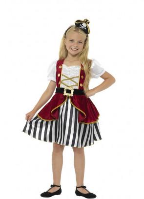Deluxe Pirate Girl Costume