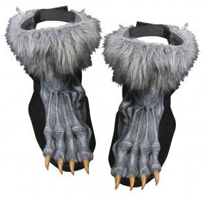 Werewolf Shoe Covers (Grey)