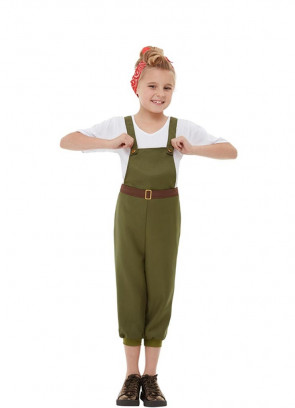 WW2 Little Land Girl