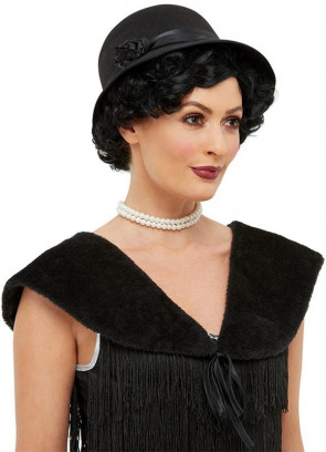 1920s Instant Flapper Kit Black