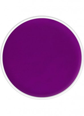 Kryolan UV-Day Glow Aquacolor Make-Up Body Paint - Purple 8ml