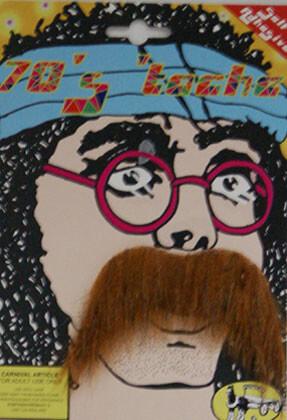 70s Ginger Moustache