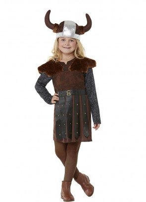 Viking Princess Costume – Brown