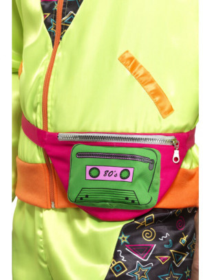 80s Bumbag - Green Cassette - up to 38