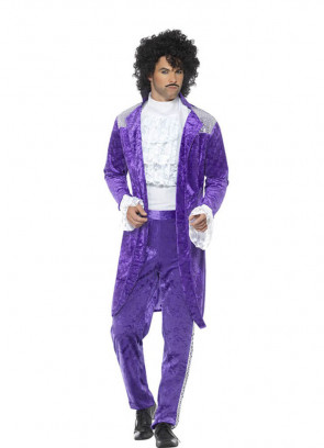 80s Purple Rain-Musician