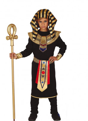 Egyptian Pharaoh with Trousers - Black