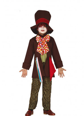 Boys Mad Hatter Costume - Crazy Tailor