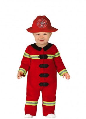 Baby Unisex Firefighter Costume