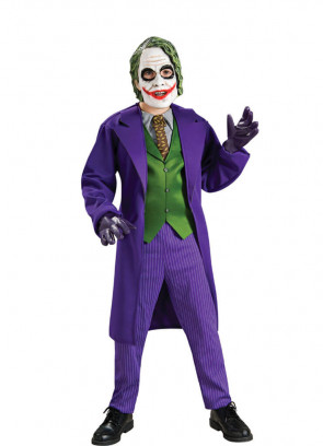 Deluxe Boys Joker Costume - Batman